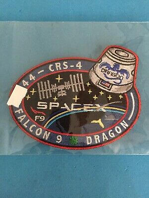 Genuine SpaceX CRS-4 Falcon 9 NASA Employee Numbered Patch