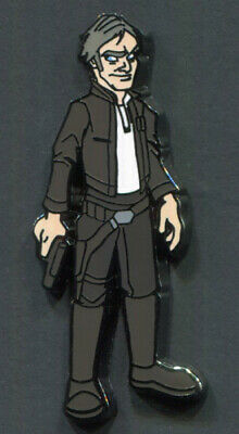 Star Wars Celebration Chicago 2019 OLD HAN SOLO VARIANT CHASE Mystery Pin Disney