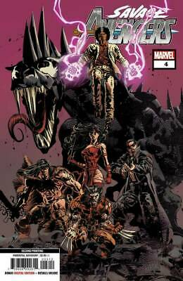 Savage Avenges #4 MARVEL COMICS 2nd Print Deodato Variant  COVER A