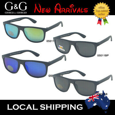 Kids Boys Cool Sunglasses Wayfarer Sporty Polarized Available + Free Pouches