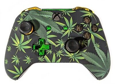 Official Microsoft Xbox One Wireless Controller S 3.5mm Custom Leaf