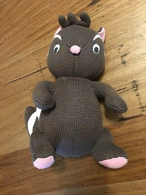 Lily And George Plush Skunk Baby Toy