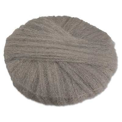GMT Radial Steel Wool Pads Grade 0 (fine): Cleaning & Polishing 17 in Dia Gray