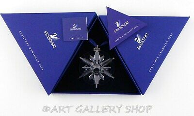 Swarovski Crystal Annual Christmas Ornament 2006 STAR SNOWFLAKE Mint Box COA