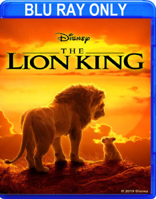 The Lion King (2019) BLU-RAY ONLY + CASE + ARTWORK ** Disc never been watched **
