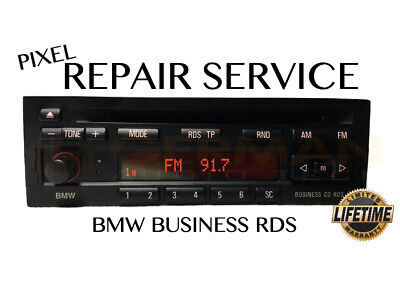 Pixel Display Repair Service for BMW BUSINESS CD RDS CD23 Radio Player Head Unit