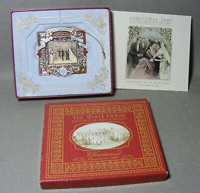 The White House Historical Assn Christmas Ornament 2007 in Box