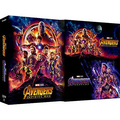 Avengers / End Game & Infinity War MovieNEX Set [Blu-ray DVD Digital Copy MovieN
