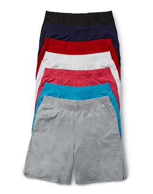 Just My Size Cotton Jersey Pull-On pocket Shorts