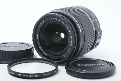 """""""N.MINT"""" CANON EF-S 18-55mm f/ 3.5-5.6 IS IMAGE STABILIZER JAPAN #191190"""