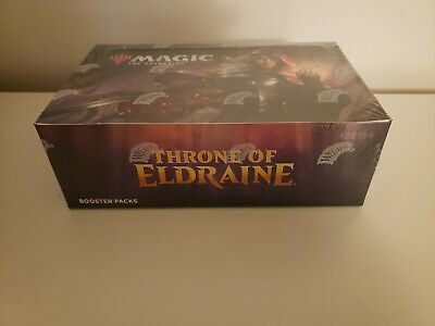 Magic the Gathering MTG THRONE OF ELDRAINE Factory Sealed Booster Box 36 packs