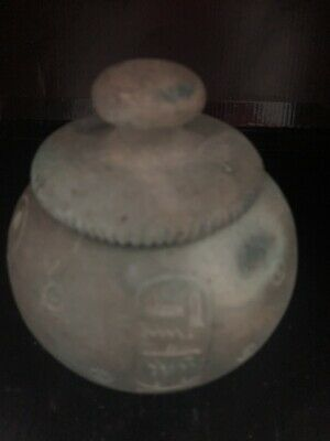 Rare Large Ancient Egyptian Pottery Bowl (1403-1365 BC)