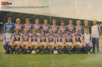 POSTER ANDERLECHT (COMES FROM DUTCH COMIC MAGAZINE EPPO 1981 nr. 04)