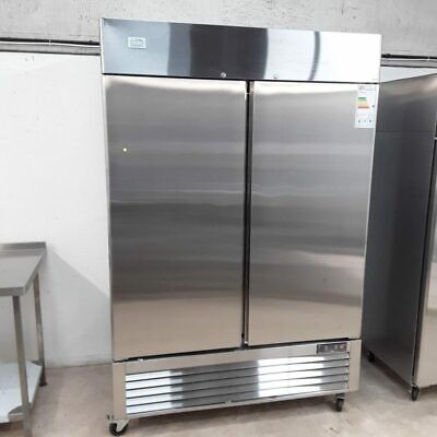 Commercial Fridge Double Door Upright Chiller Stainless Ice A Cool ICE8960