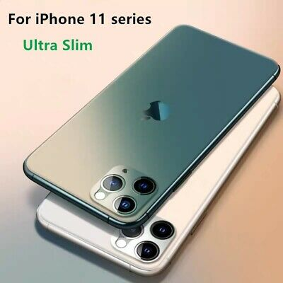 Matte Ultra Thin Slim Anti-slip Case Cover For iPhone 11 Pro Max XS XR 7 8+ Plus