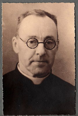 Photography Years 1930 - D' One Priest with Identify - Area Lyonnaise