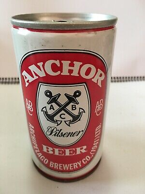 Collectable - Anchor Beer Steel Beer Can 12fl. Oz. - Brewed in Singapore