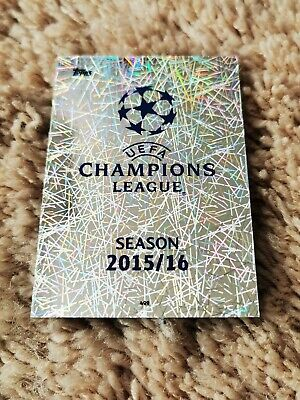 Match Attax UEFA Champions League 2015 2016 Topps 15 16 No 499 LOGO Card