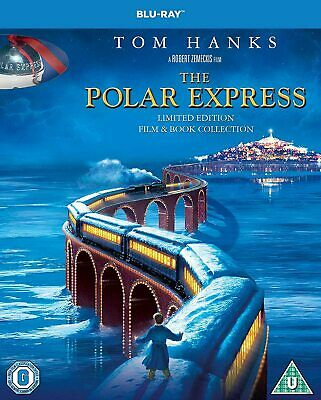 The Polar Express Film & Book Collection [2019] (Blu-ray) Tom Hanks