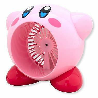 Taito Kirby of the Stars USB type Tabletop Fan Nintendo Game Character JAPAN