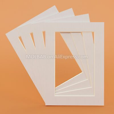 Photo Frame Paper Mount Picture Mat Rectangle Oval 6pcs/Lot For Decoration Home