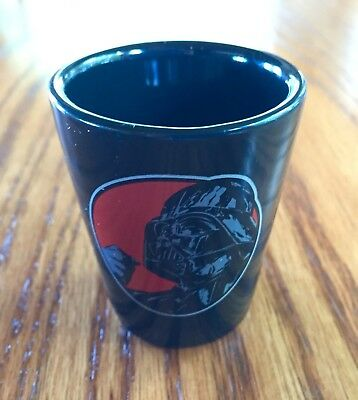 STAR WARS Darth Vader THE FORCE IS STRONG WITH THIS ONE Shot Glass Mini Cup 2 oz
