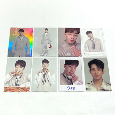 """SEVENTEEN """"Ode to You"""" Wonwoo Official Photocard Set World Tour in Japan"""