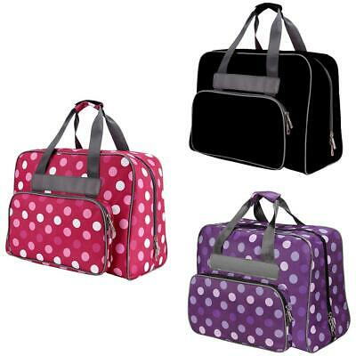 Portable Sewing Machine Rolling Tote Travel Organizer Storage Bag Case 3 COLOR