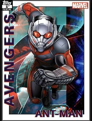 Topps Marvel Collect Ant-Man Avengers 1st Printing 250cc Digital Trader First