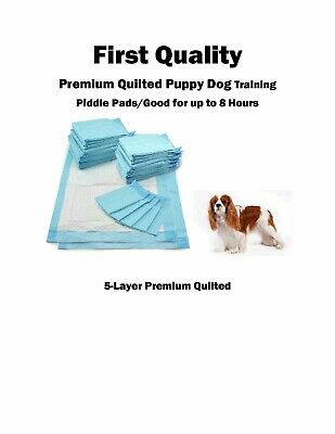 """300-23x36"""" Extra Absorbent Quilted Odor Controling 8hr 5 Ply Puppy Training pads"""