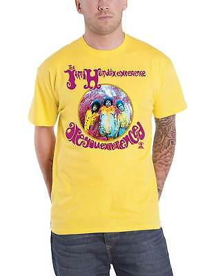 Jimi Hendrix Are You Experienced Men/'s T Shirt Rock Legend Singing Album Concert