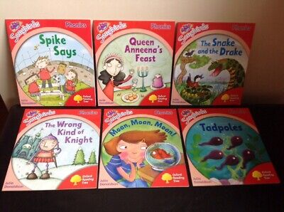 Set of 6 Books Songbirds Phonics STAGE 4 Oxford Reading Tree Julia Donaldson