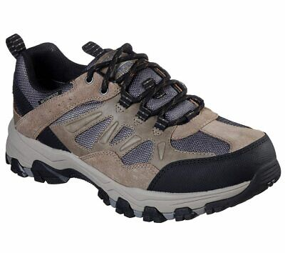SKECHERS 66275 SELMEN Enago Tan Waterproof Lace Up Shoe