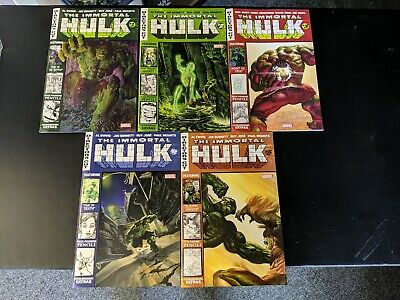 The Immortal Hulk Director's Cut 1 2 3 4 5 Complete Marvel White Hot Super Cheap