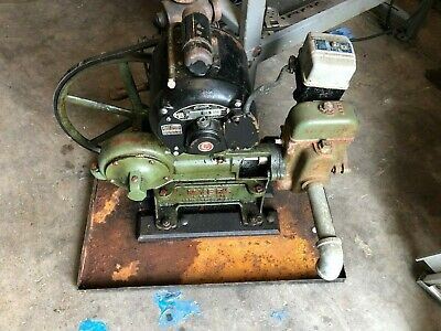 ANTIQUE VINTAGE F.E.MYERS WATER PUMP 1938 With Manual