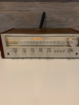 🔥Vintage Pioneer SX-450 FM/MW Stereo Receiver *TESTED* Working Unit