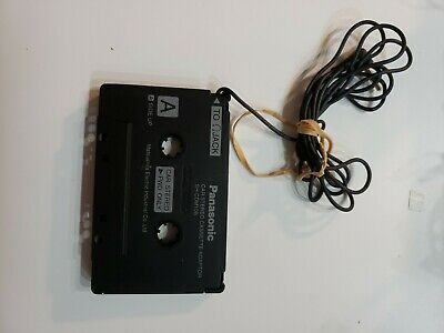 Panasonic SH-CDM10B Car Stereo Audio Cassette Player Adapter LOOK