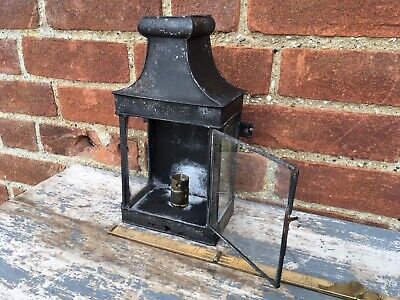 Old Antique French Wall Lantern For Restoration