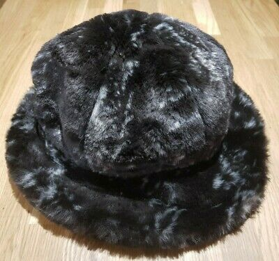 Marida Vintage Faux Fur Brown Cream Fleck Lined One Black Friday Sale £8