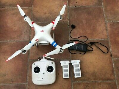 DJI Phantom 2 Standard Quadcopter Drone with Case Charger Batteries