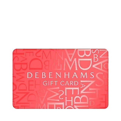 £217  Debenhams gift card (NO OFFERS)