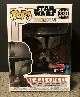 Funko Pop The Mandalorian #330 Star Wars NYCC 2019 SHARED Exclusive *IN HAND*