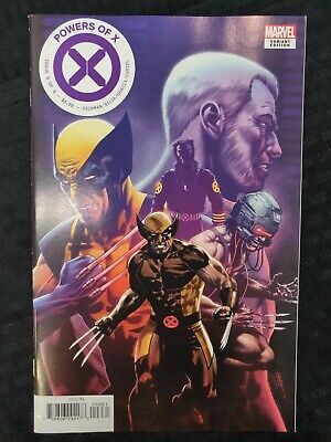 Marvel Comics Powers of X #6 of 6 Decades Variant (2019)