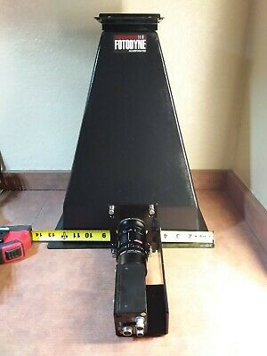 Large Fotodyne Hood w/ Computar Video Camera Tiffen Lens
