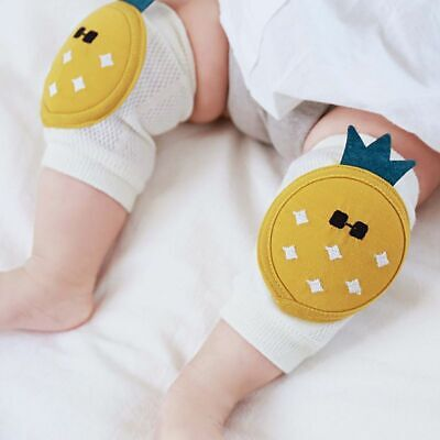 1 Pair Cotton Elastic Toddler Leg Warmers Baby Crawl Pads Elbow Protector New