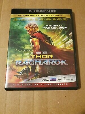 Thor Ragnarok: (4K Ultra HD & Blu-ray) EXCELLENT CONDITION!!