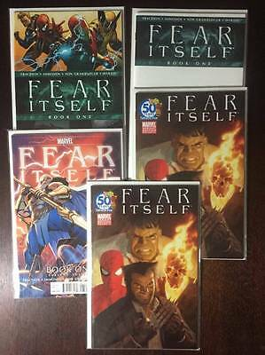 Fear Itself Comic Book Lot, Variants, 24 Issues, Marvel, NM