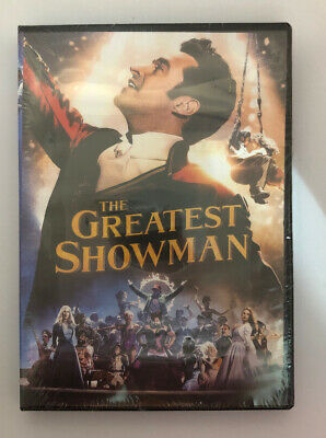 The Greatest Showman (DVD, 2018) NEW
