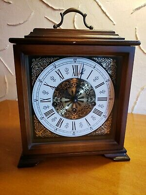 Linden/Cuckoo Clock Mfg Co West Germany Lantern Carriage Style Clock C1972