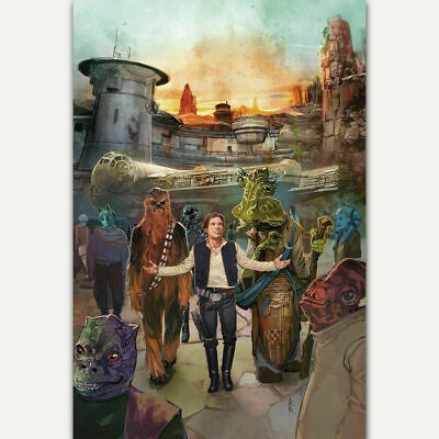 Y102 Star Wars Galaxy's Edge Movie Film Comic Cover Silk Canvas Poster 30 24x36